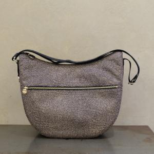 borsa borbonese luna bag medium 934109 I15 X11 op classic nero