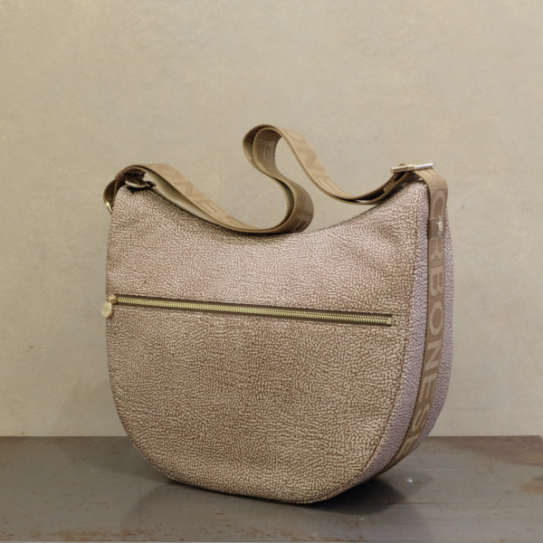 luna bag medium borbonese borsa donna iconica tendenza moda PE2021