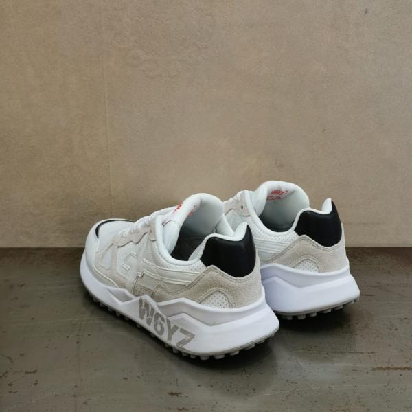 pulsante per acquistare sneaker uomo w6yz 0N01 colore bianco