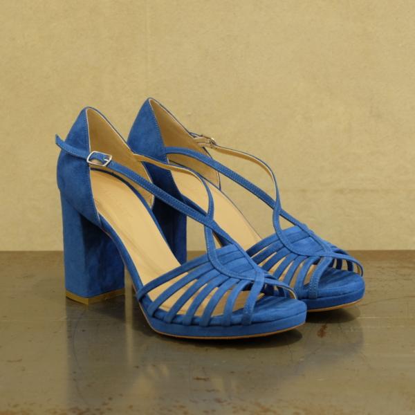 audley sandalo donna Ginger deep blu nuovi colori moda pe 2021 su stefanoascari.it