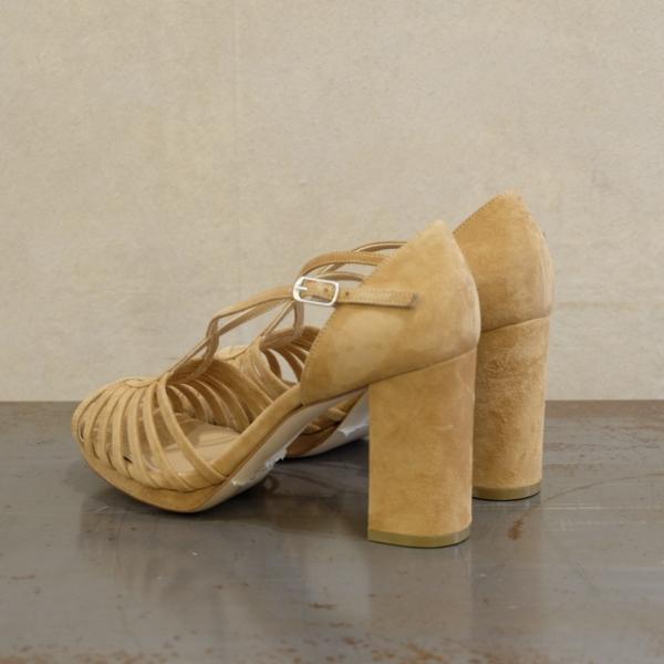 audley sandalo donna Ginger tan beige nuovi colori moda pe 2021 su stefanoascari.it