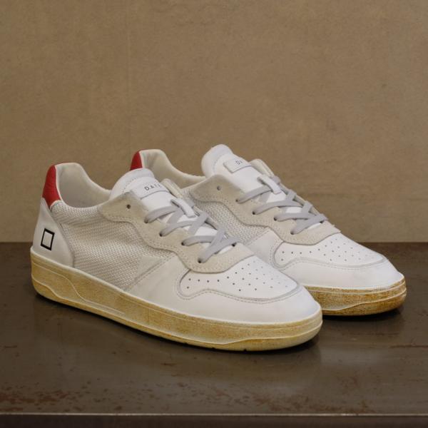 d.a.t.e. sneaker uomo court argegno white silver nuovi modelli pe 2021 su stefanoascari.it
