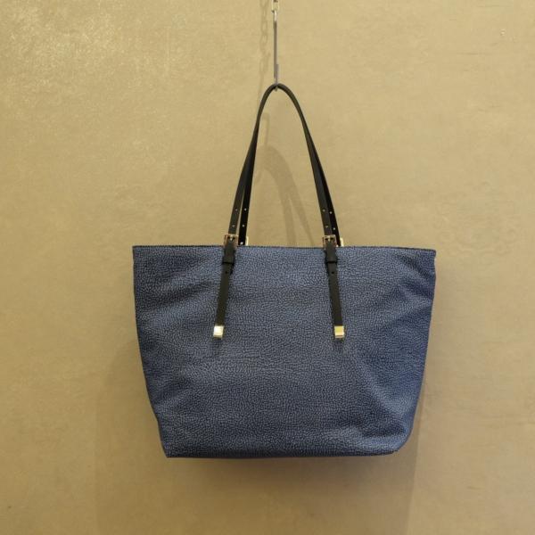 pulsante per acquistare Borbonese borsa shopping 934060 blu