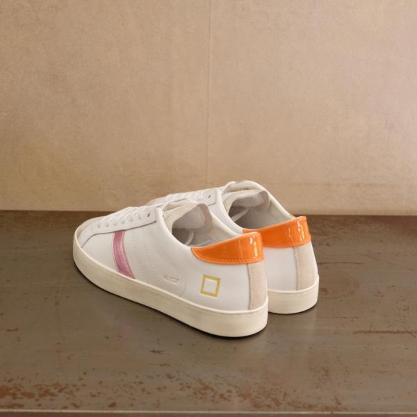 pulsante per acquistare d.a.t.e. sneaker donna hill low calf white orange