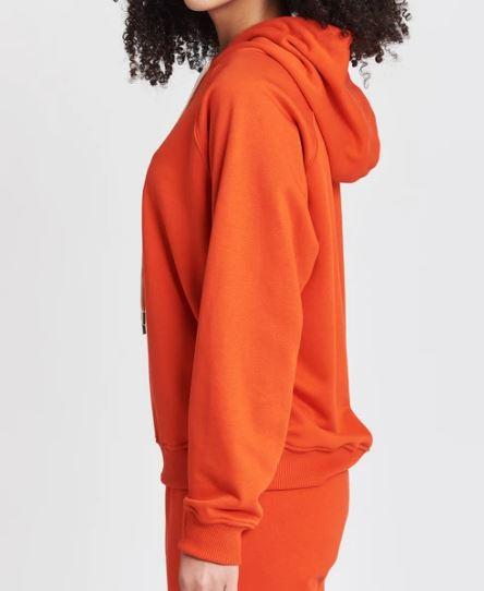 pulsante per acquistare felpa con cappuccio papaya vicolo
