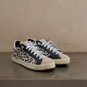 pulsante per acquistare p448 sneaker donna john leopard sand