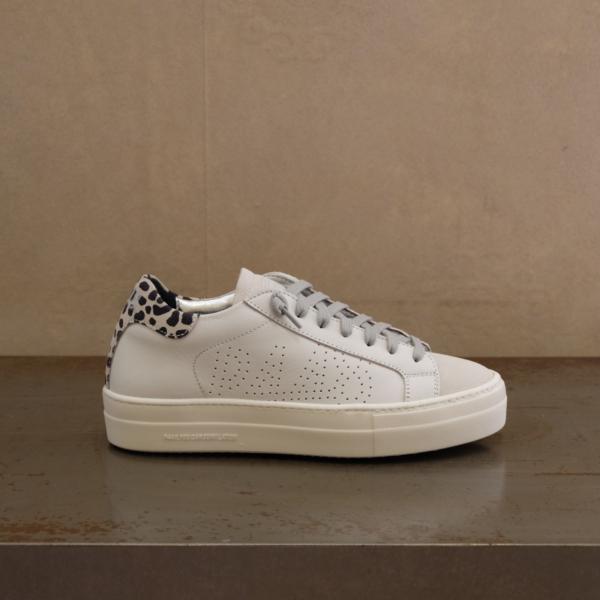 pulsante per acquistare P448 sneaker donna thea white leopard