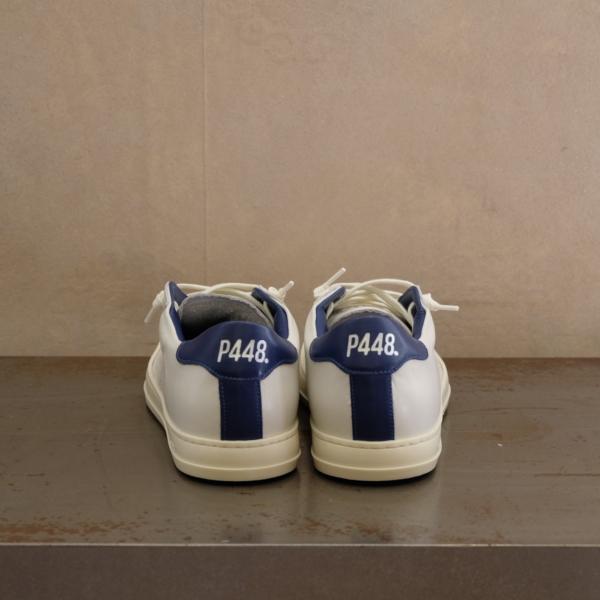 pulsante per acquistare P448 sneaker uomo john cream navy