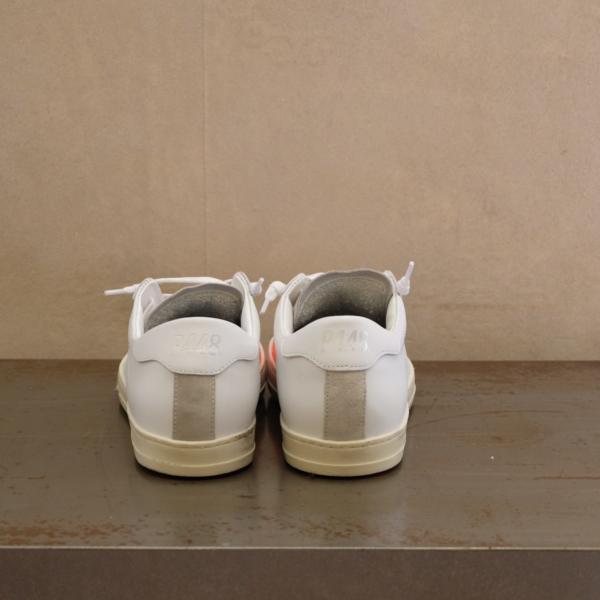 pulsante per acquistare P448 sneaker uomo john white orange