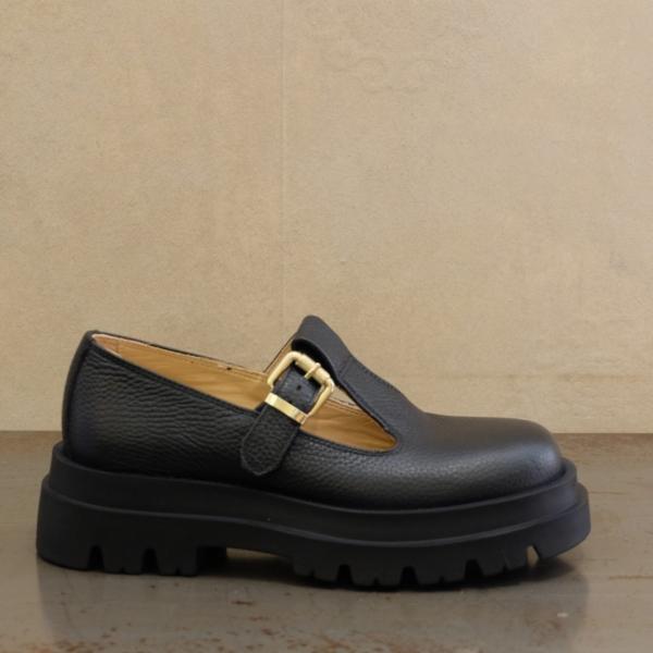 lemarè sandalo donna colore nero stile anni '90 su stefanoascari.it