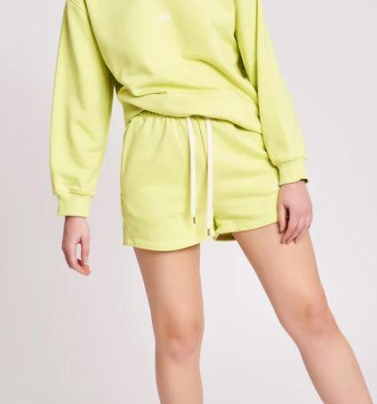 pulsante per acquistare panta shorts lime vicolo