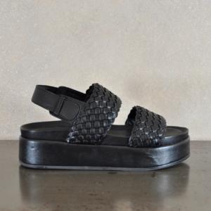 pulsante per acquistare habillè sandalo donna gea cross black black