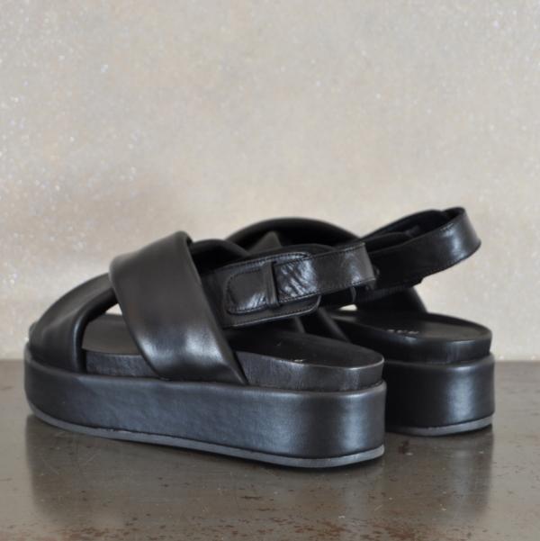 pulsante per acquistare habillè sandalo donna gilda black