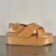 pulsante per acquistare habillè sandalo donna gilda cognac