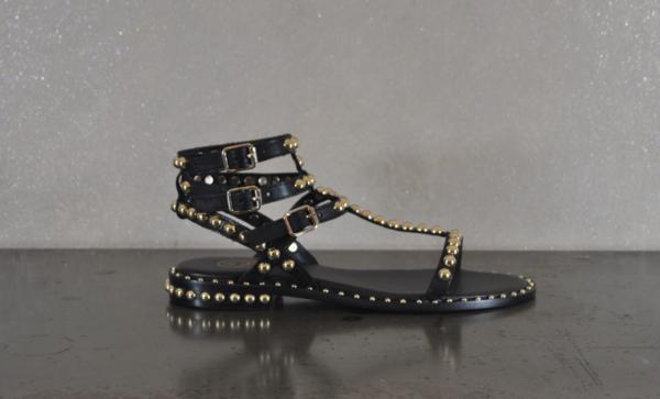 pulsante per acquistare sandalo donna ash play black