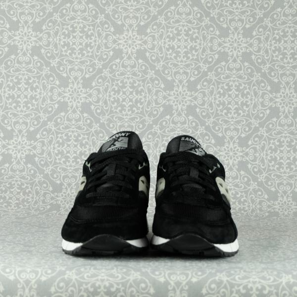saucony shadow 6000 70441/19 colore black silver in tessuto tecnico e suede, chiusura con lacci in vendita su www.stefanoascari.it