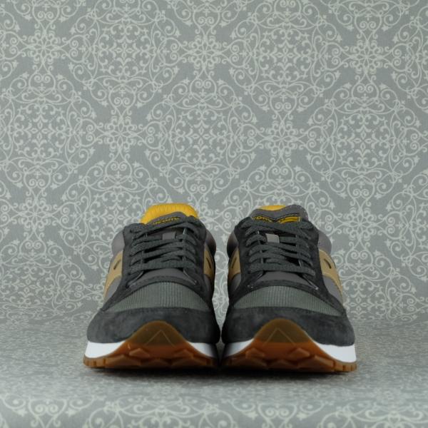 saucony jazz 81 sneaker uomo 70613/2 grey yellow con lacci di chiusura in due colori suola ultra leggera in eva in vendita su www.stefanoascari.it