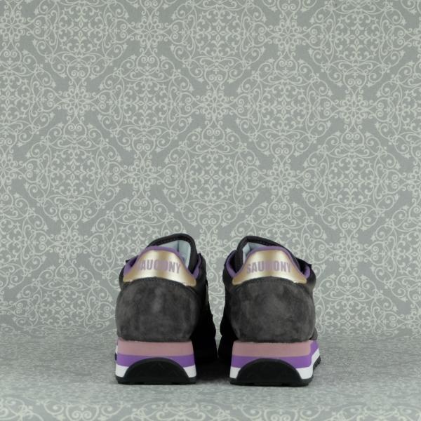 Saucony Jazz Triple grey purple con lacci disponibili in due colori e suola in eva super ammortizzata in vendita su www.stefanoascari.it