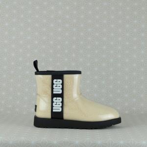 ugg classic clear mini è idrorepellente e certificato fino a -20 °C, novità inverno 2021 in vendita su www.stefanoascari.it